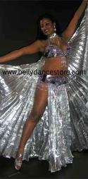 Metalic Lame Isis Wings & Skirt set 1966